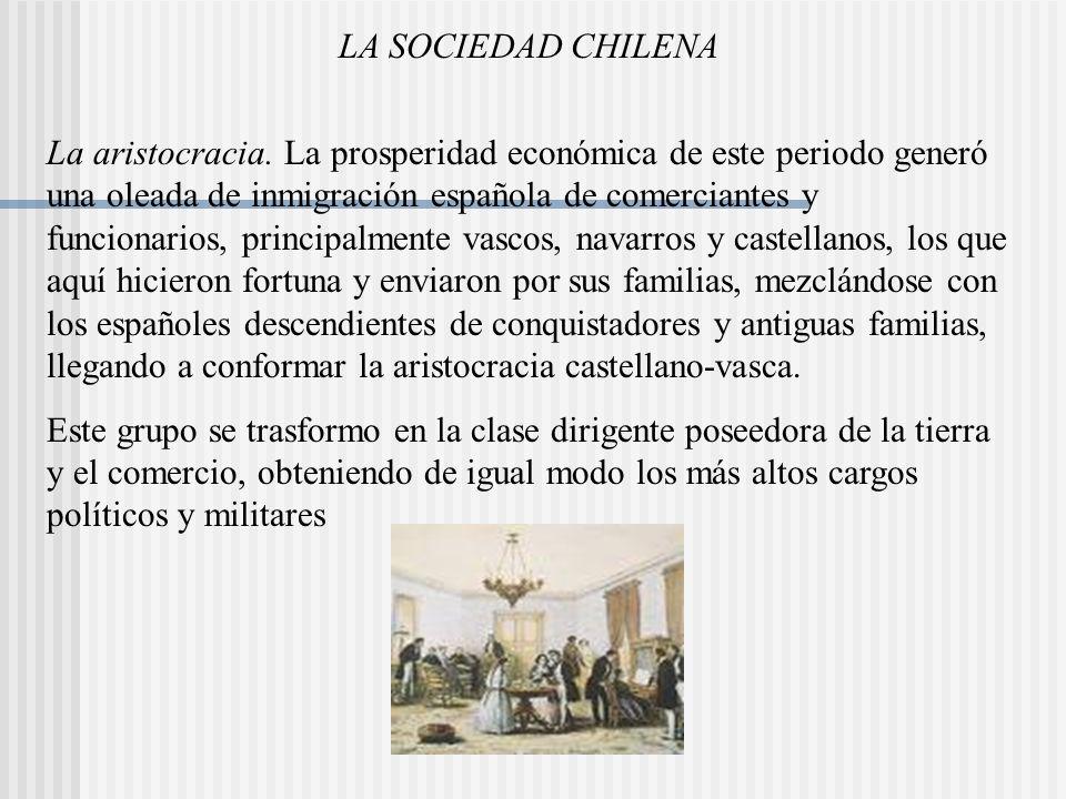 LA SOCIEDAD CHILENA
