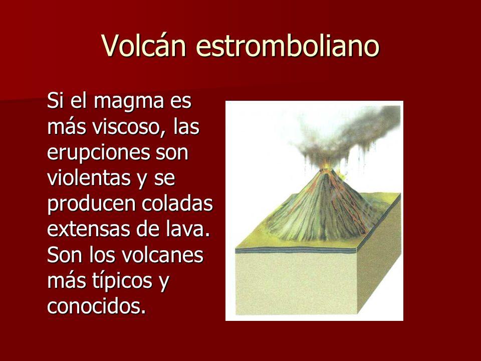 Volcán estromboliano