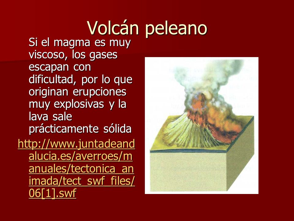 Volcán peleano