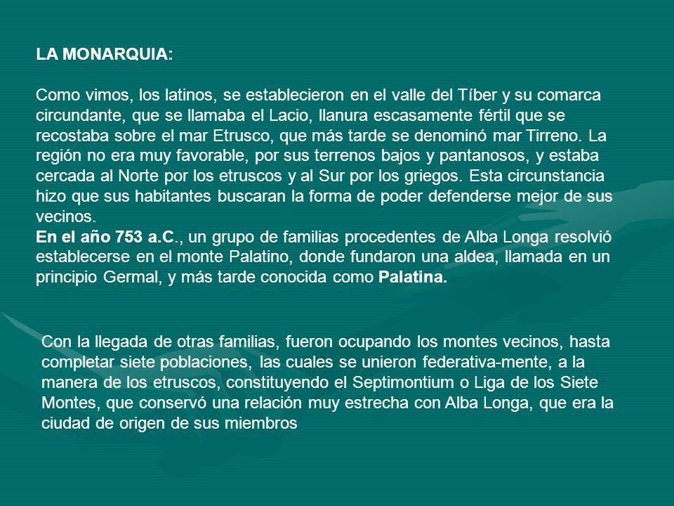 LA MONARQUIA: