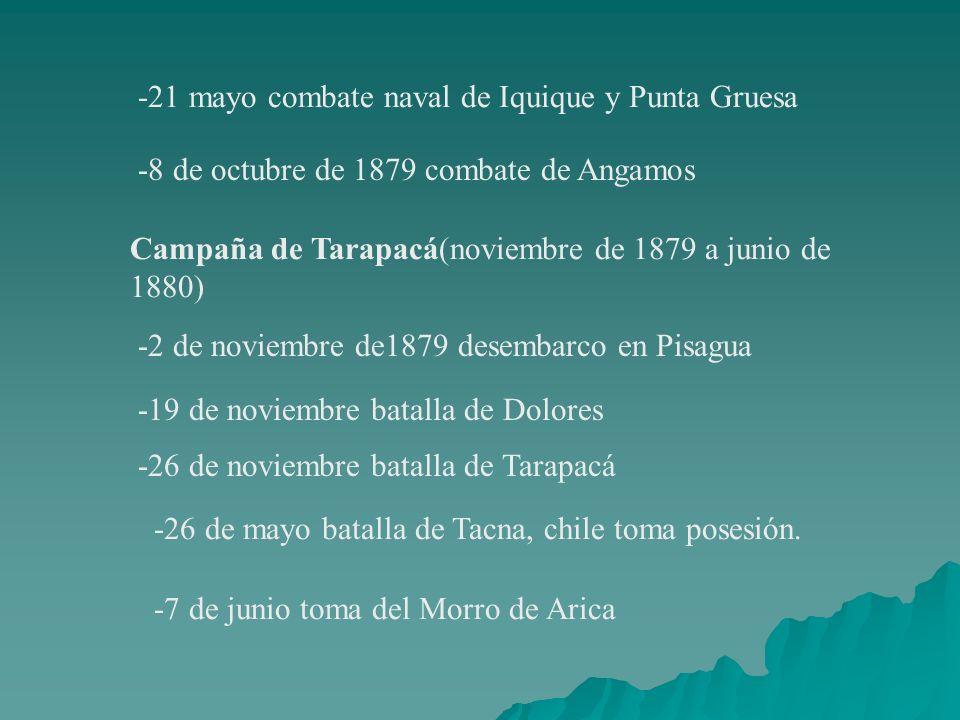 -21 mayo combate naval de Iquique y Punta Gruesa