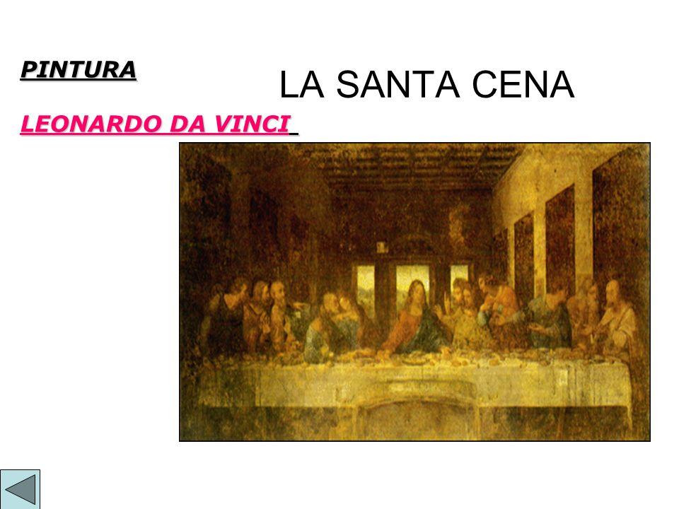 PINTURA LEONARDO DA VINCI