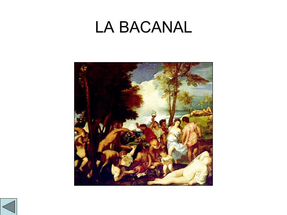 LA BACANAL