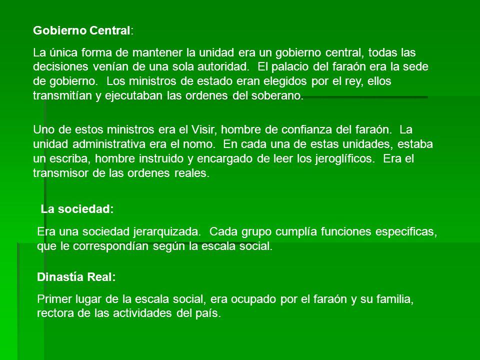 Gobierno Central: