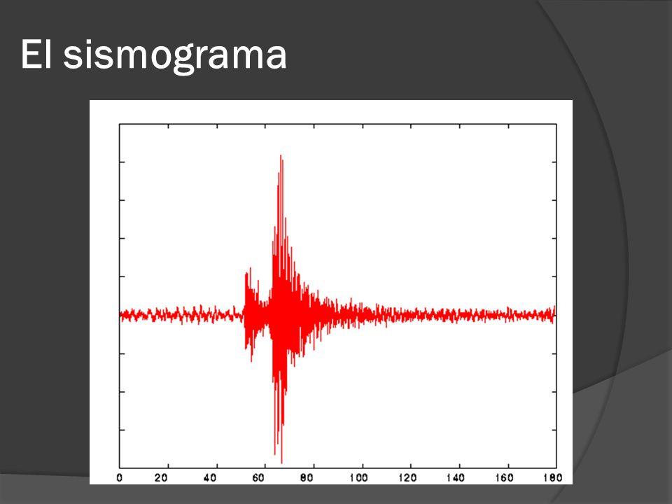 El sismograma