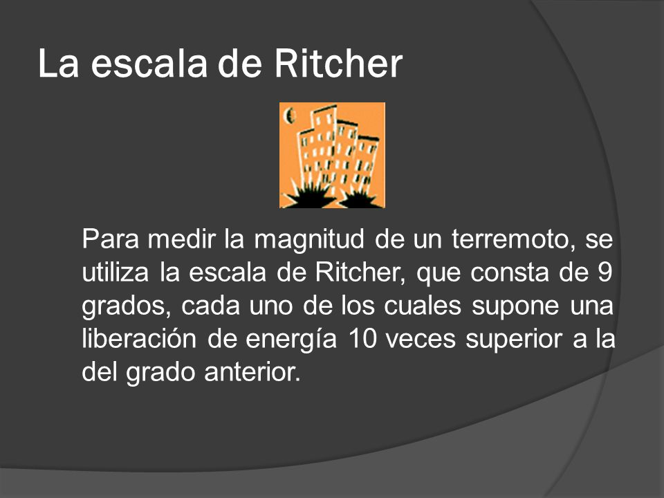 La escala de Ritcher