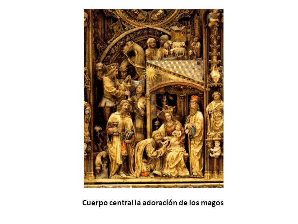 Cuerpo central la adoración de los magos