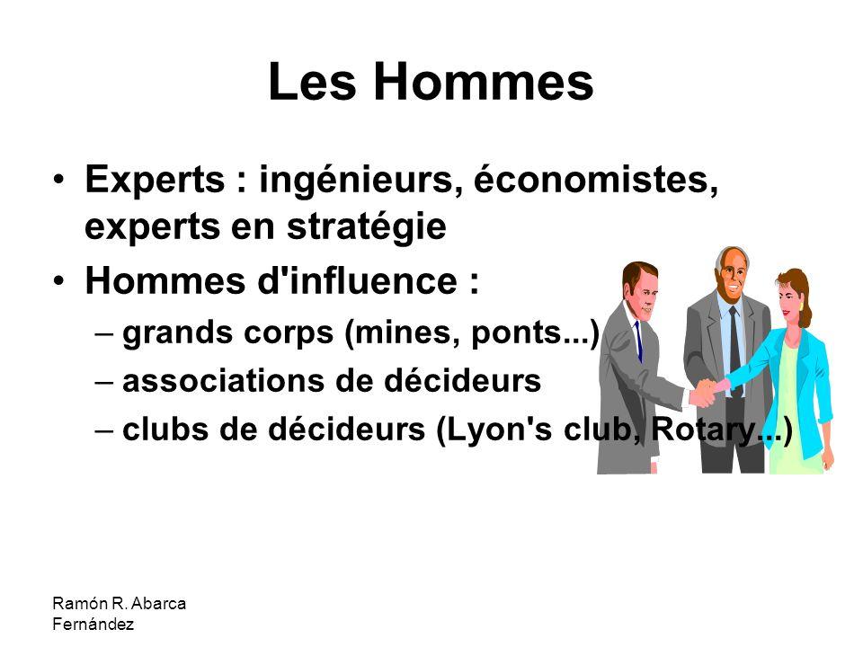 Les Hommes Experts : ingénieurs, économistes, experts en stratégie