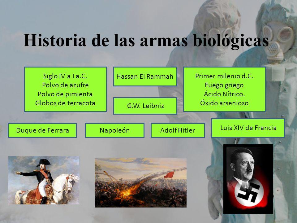 Historia de las armas biológicas
