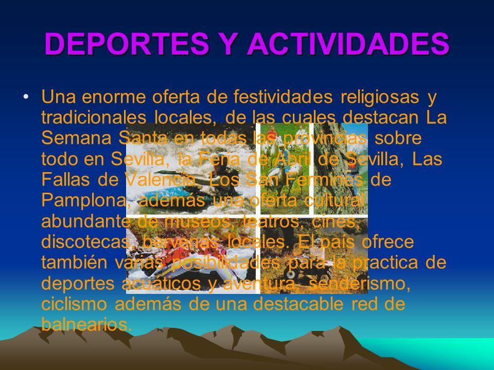 DEPORTES Y ACTIVIDADES