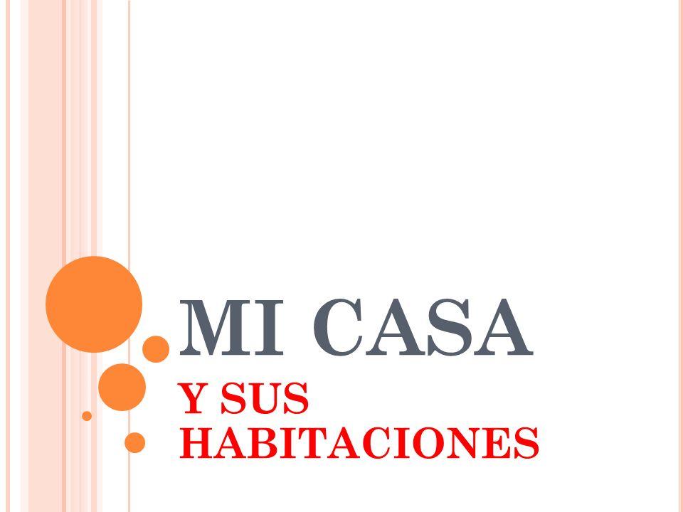 MI CASA Y SUS HABITACIONES