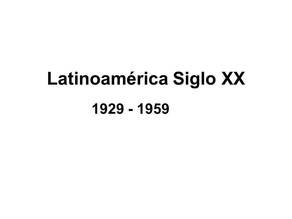 Latinoamérica Siglo XX