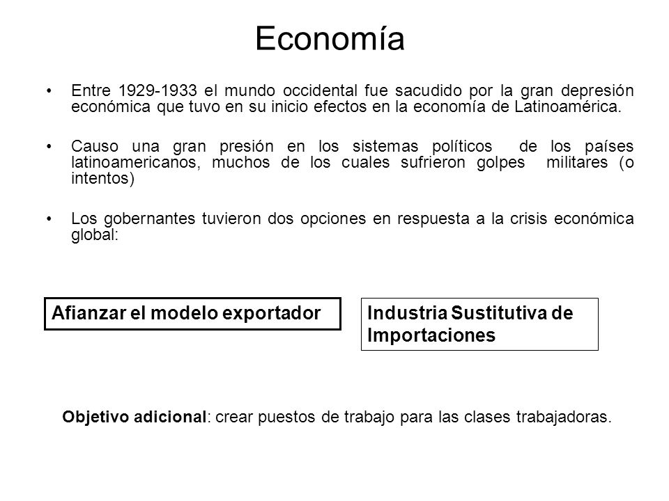 Economía Afianzar el modelo exportador