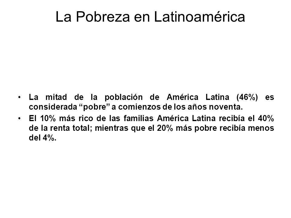 La Pobreza en Latinoamérica