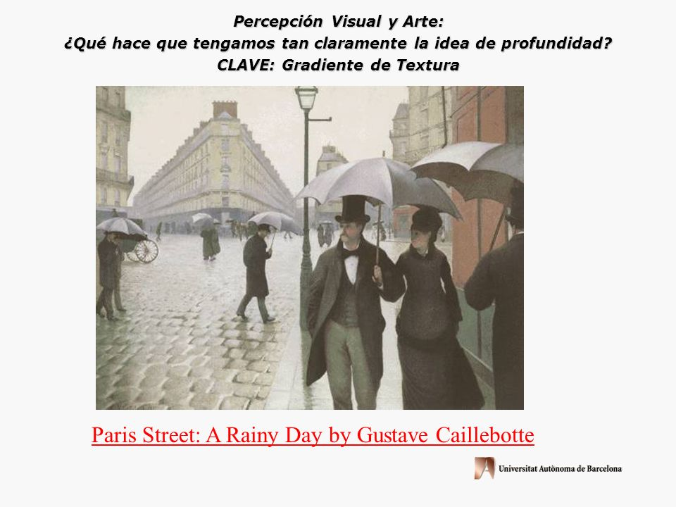 Paris Street: A Rainy Day by Gustave Caillebotte