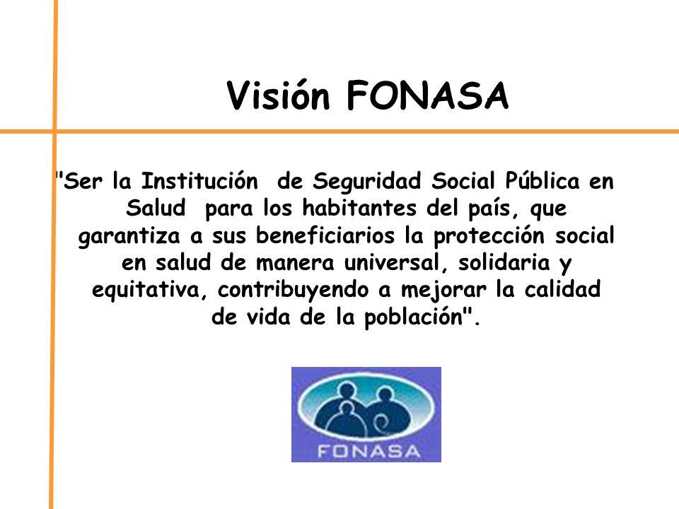 Visión FONASA