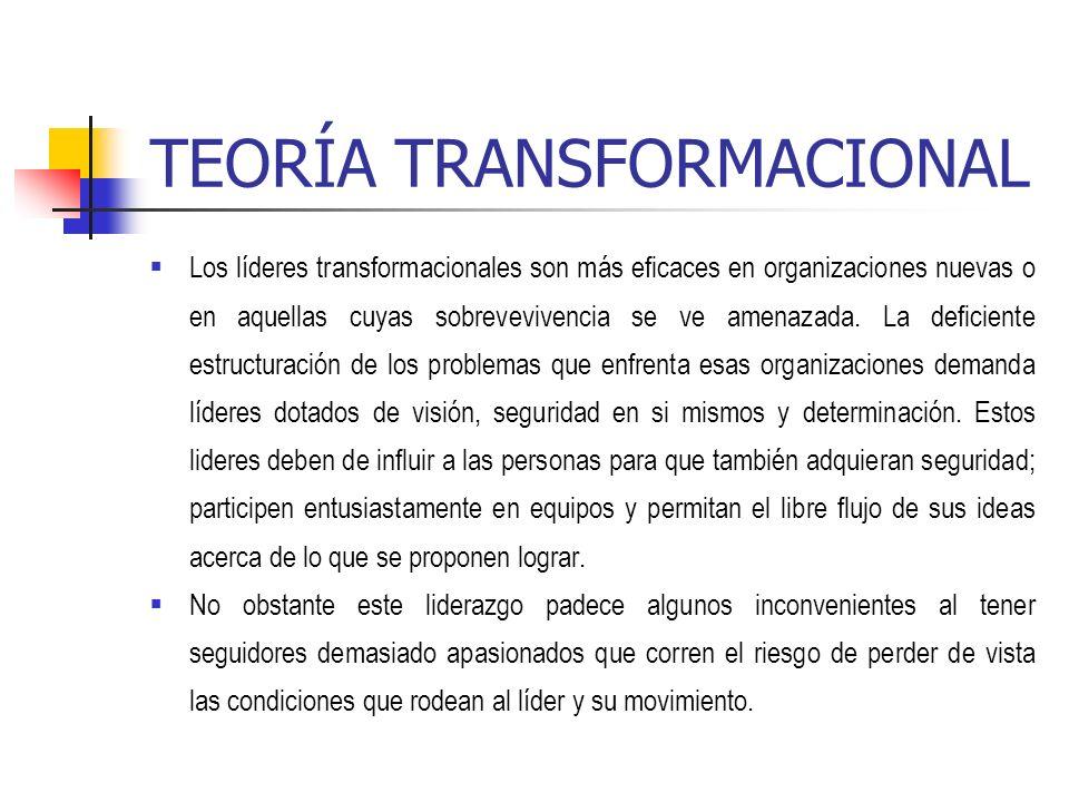 TEORÍA TRANSFORMACIONAL