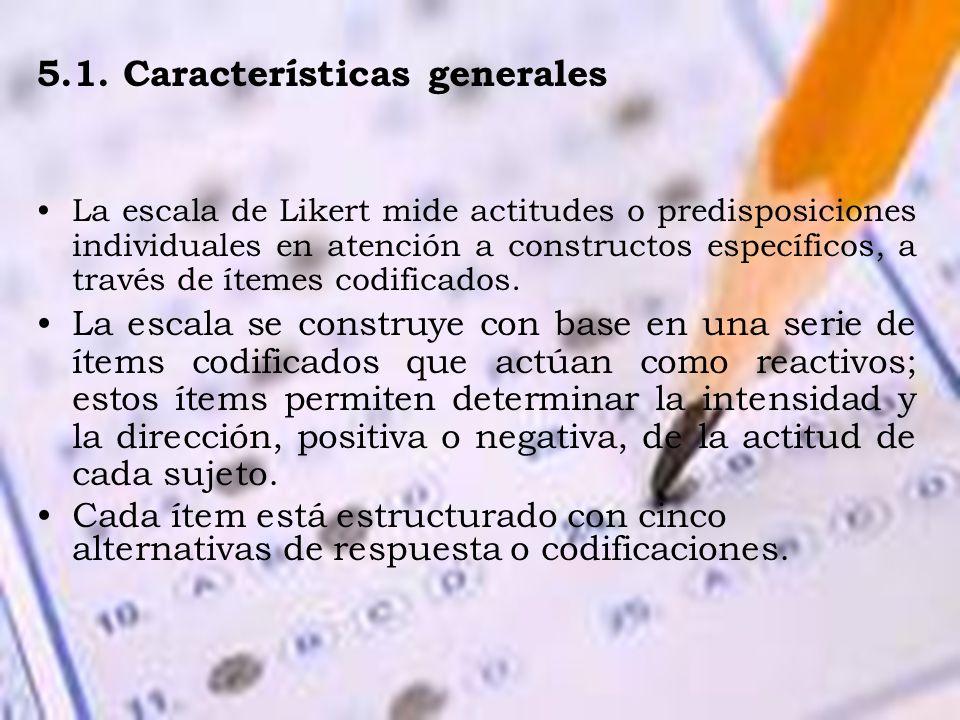 5.1. Características generales
