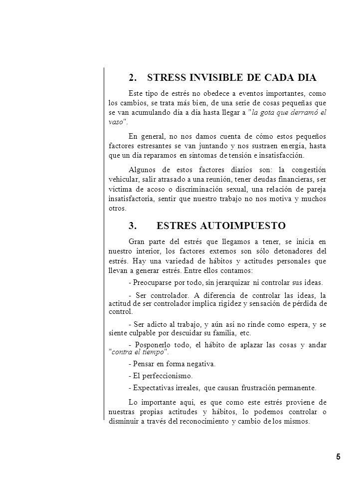 2. STRESS INVISIBLE DE CADA DIA