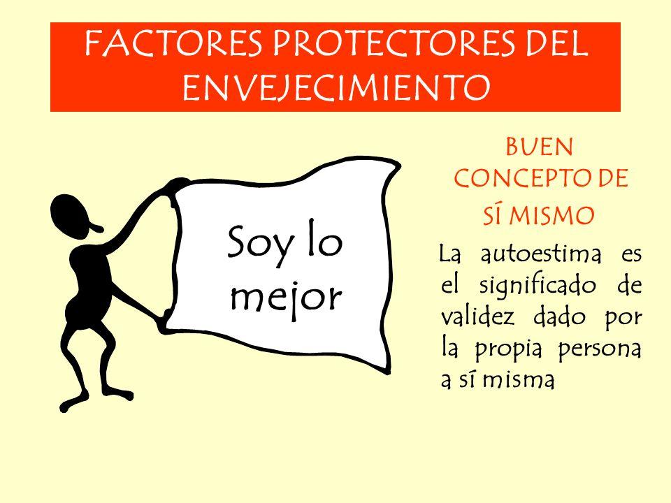 FACTORES PROTECTORES DEL ENVEJECIMIENTO