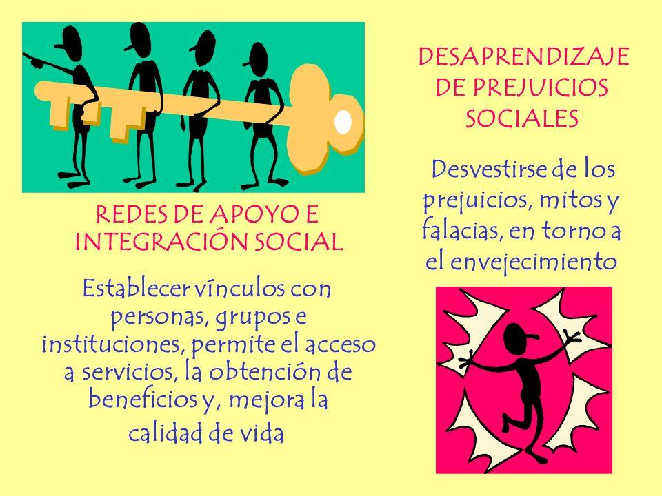 DESAPRENDIZAJE DE PREJUICIOS SOCIALES