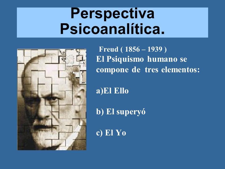 Perspectiva Psicoanalítica.