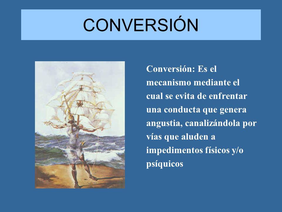 CONVERSIÓN Conversión: Es el mecanismo mediante el