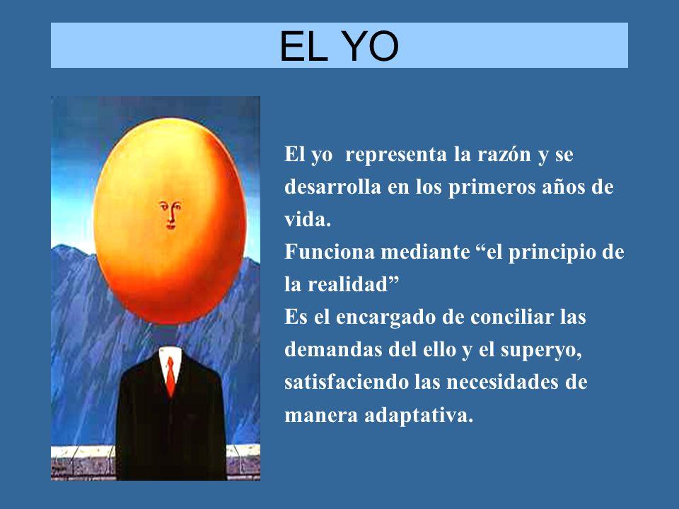 EL YO El yo representa la razón y se