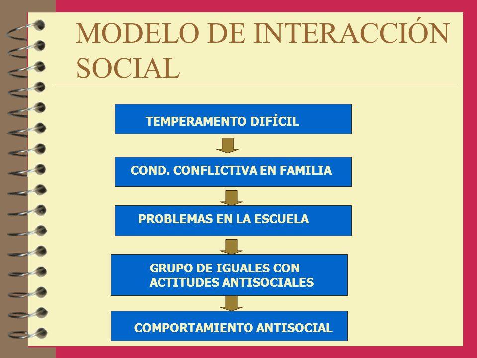 MODELO DE INTERACCIÓN SOCIAL