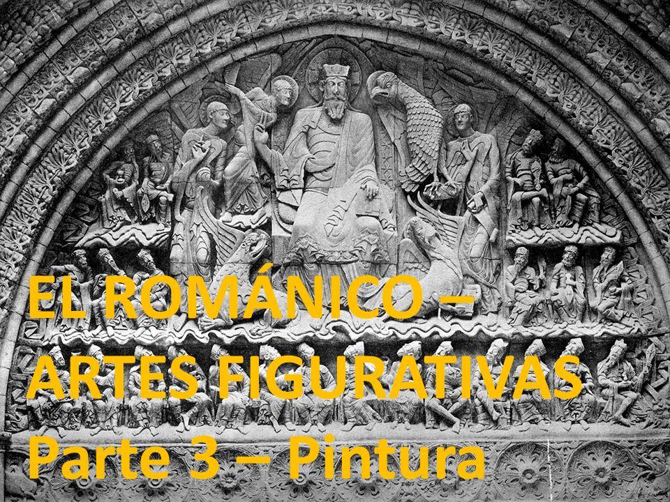 EL ROMÁNICO – ARTES FIGURATIVAS Parte 3 – Pintura