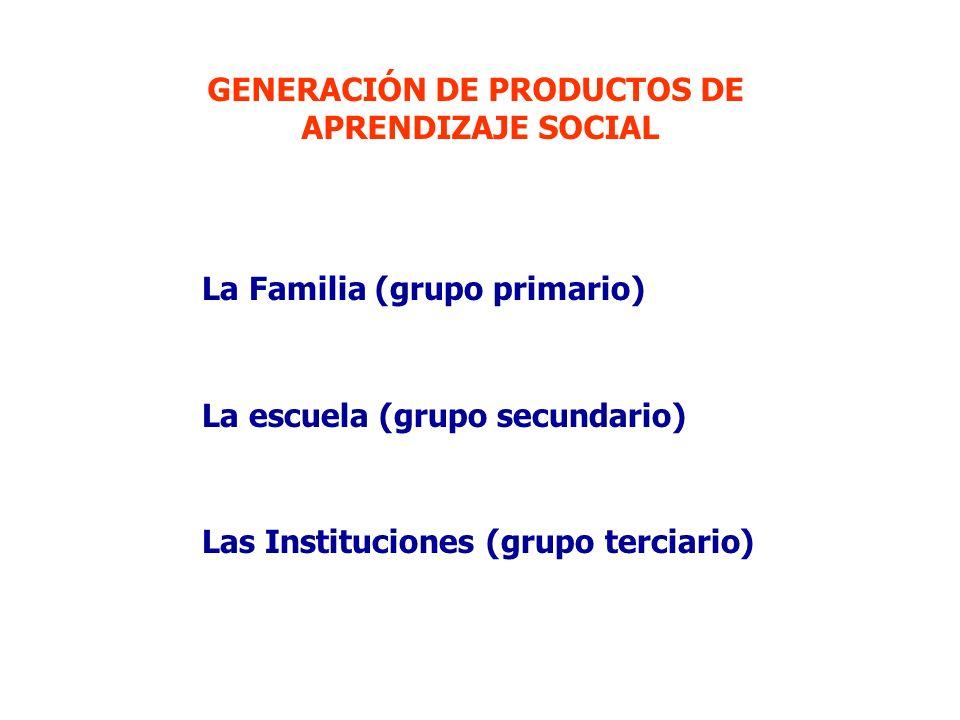 GENERACIÓN DE PRODUCTOS DE