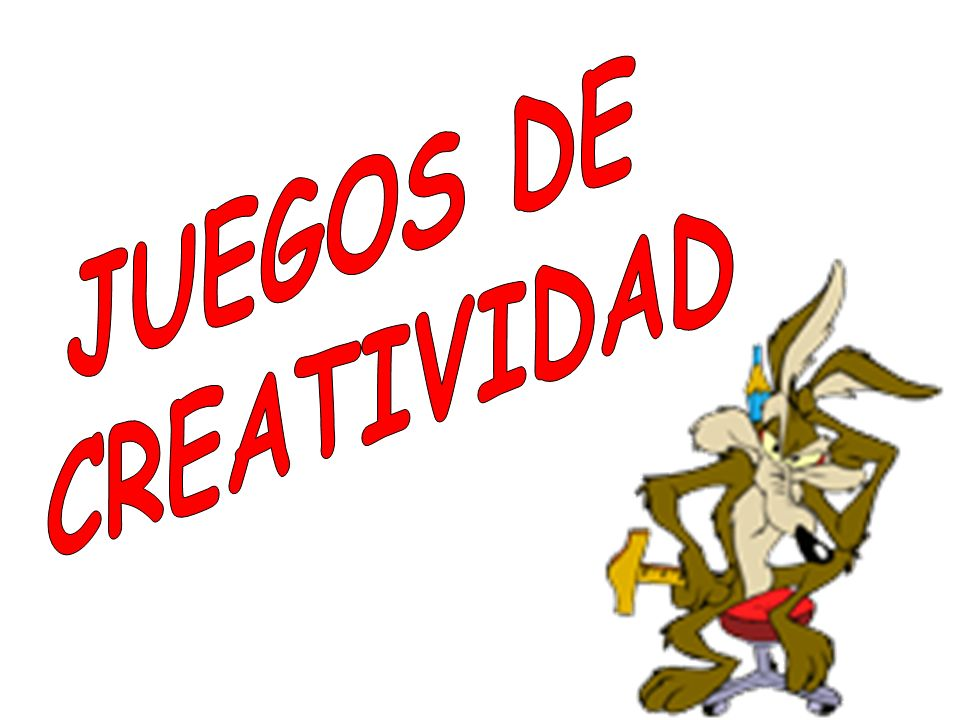 JUEGOS DE CREATIVIDAD