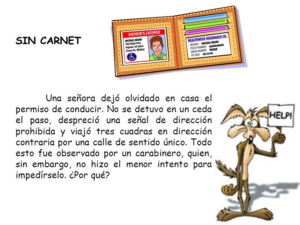 SIN CARNET