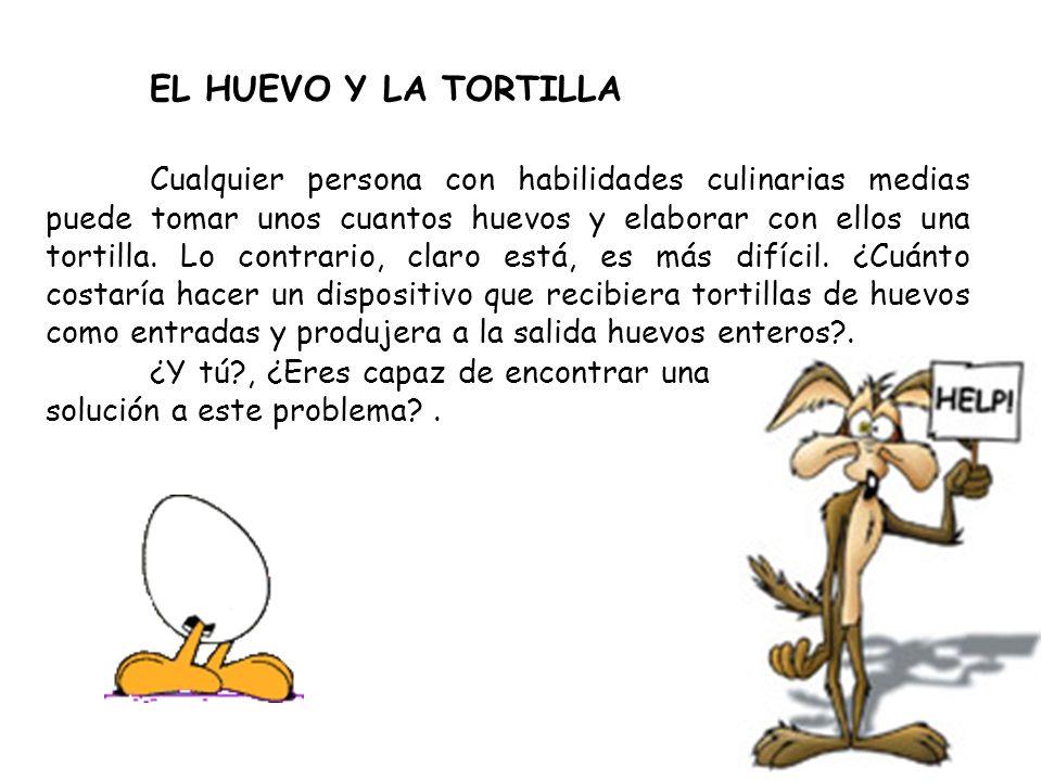 EL HUEVO Y LA TORTILLA
