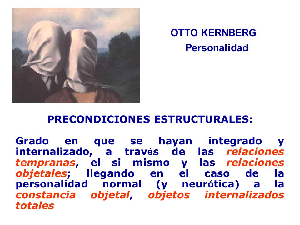 PRECONDICIONES ESTRUCTURALES: