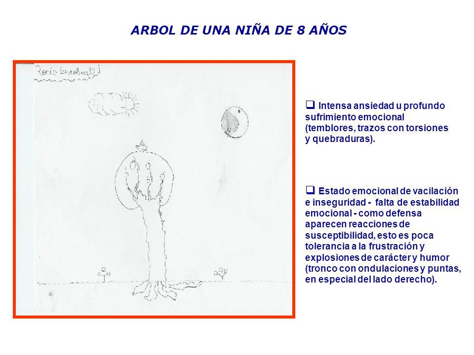 ARBOL DE UNA NIÑA DE 8 AÑOS
