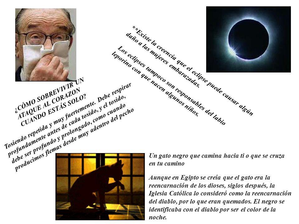 **Existe la creencia que el eclipse puede causar algún daño a las mujeres embarazadas.