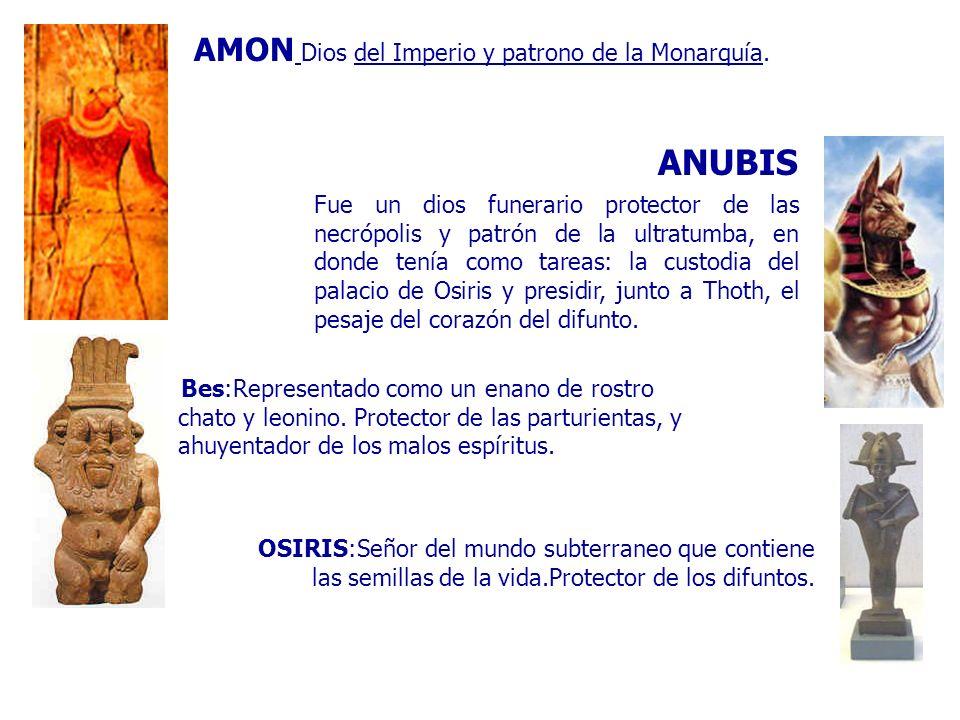 ANUBIS AMON Dios del Imperio y patrono de la Monarquía.