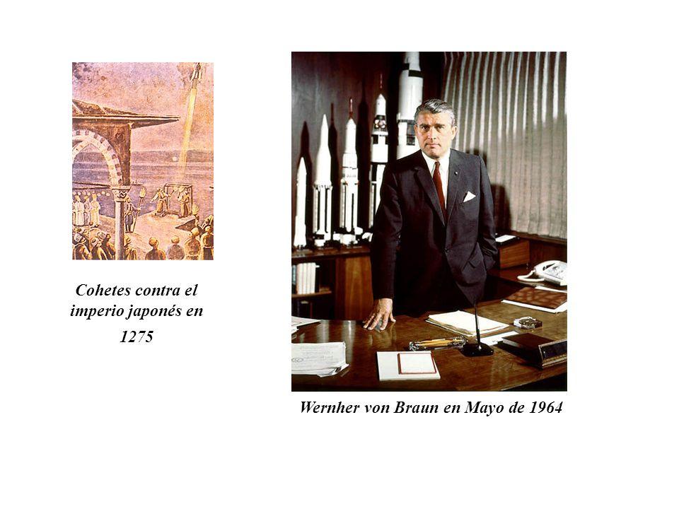 Wernher von Braun en Mayo de 1964