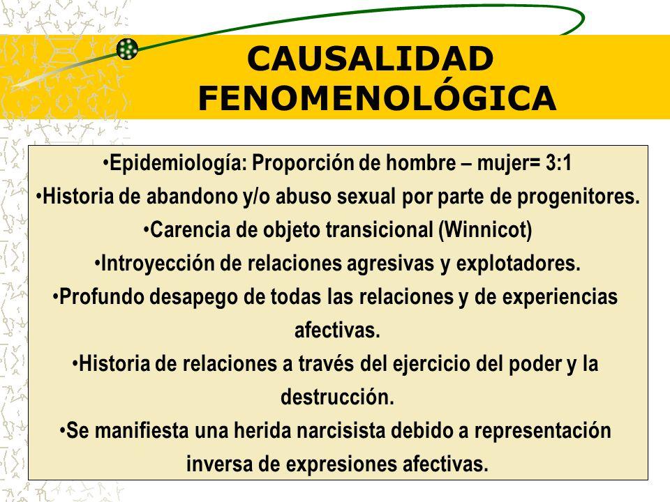 CAUSALIDAD FENOMENOLÓGICA