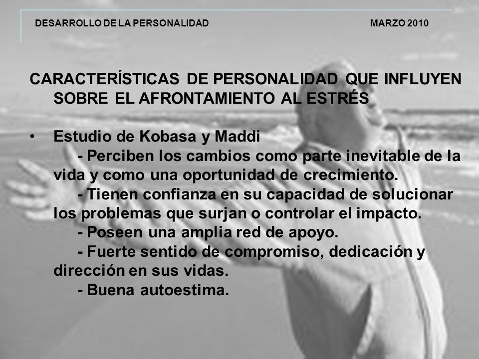 Estudio de Kobasa y Maddi
