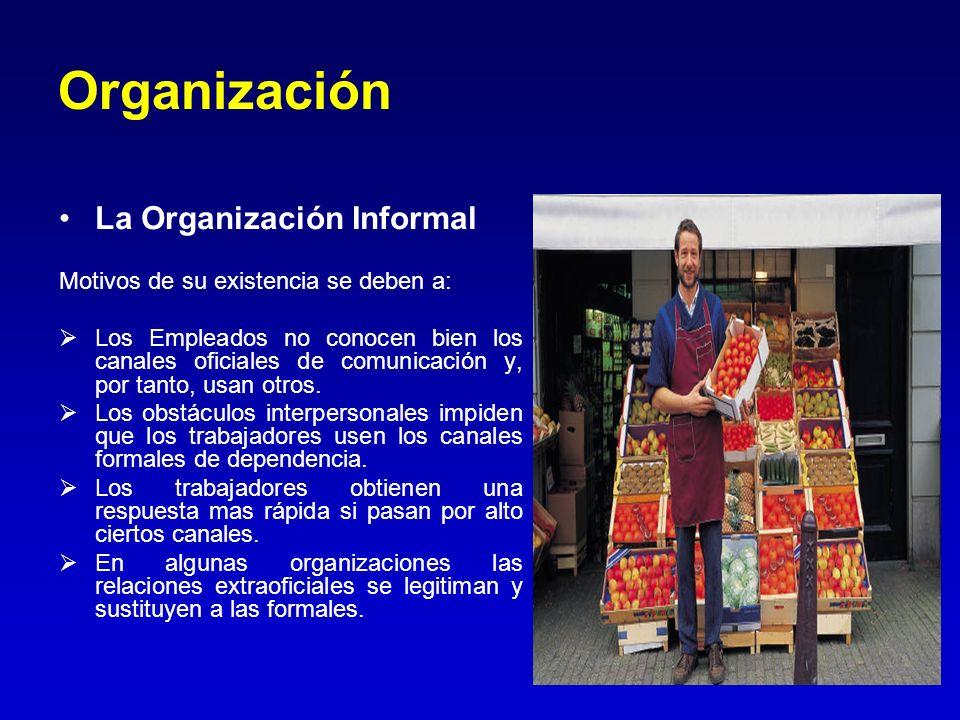 Organización La Organización Informal