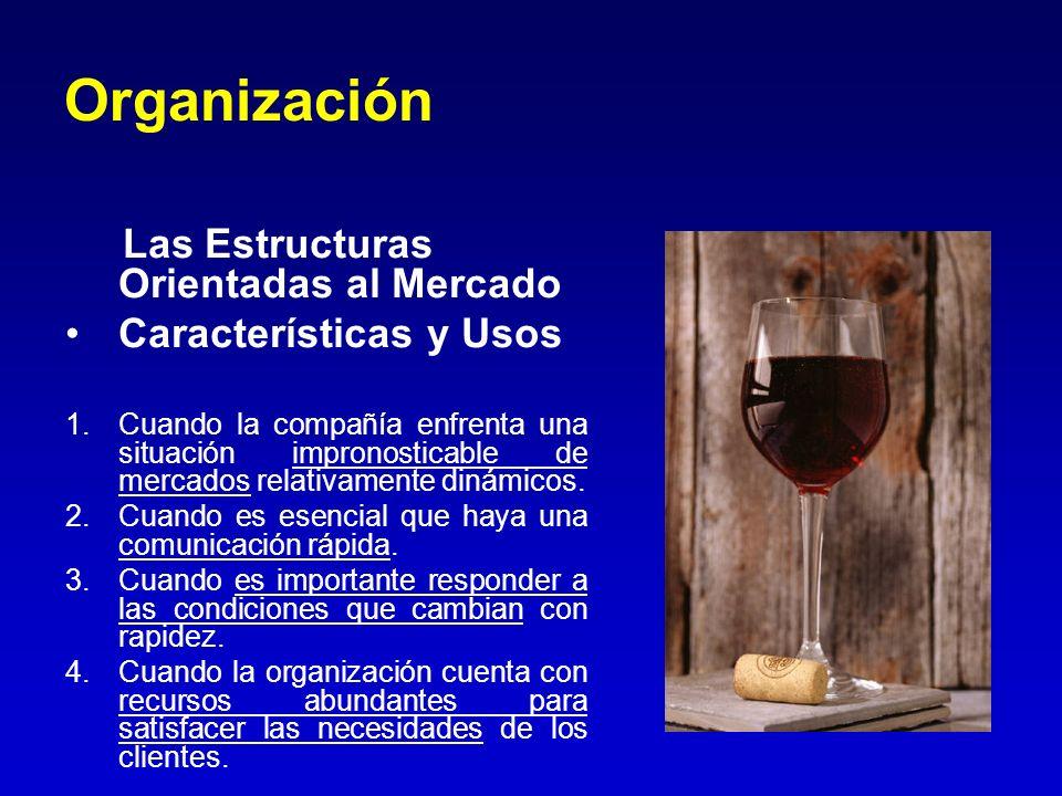 Organización Las Estructuras Orientadas al Mercado