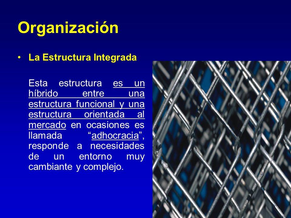 Organización La Estructura Integrada