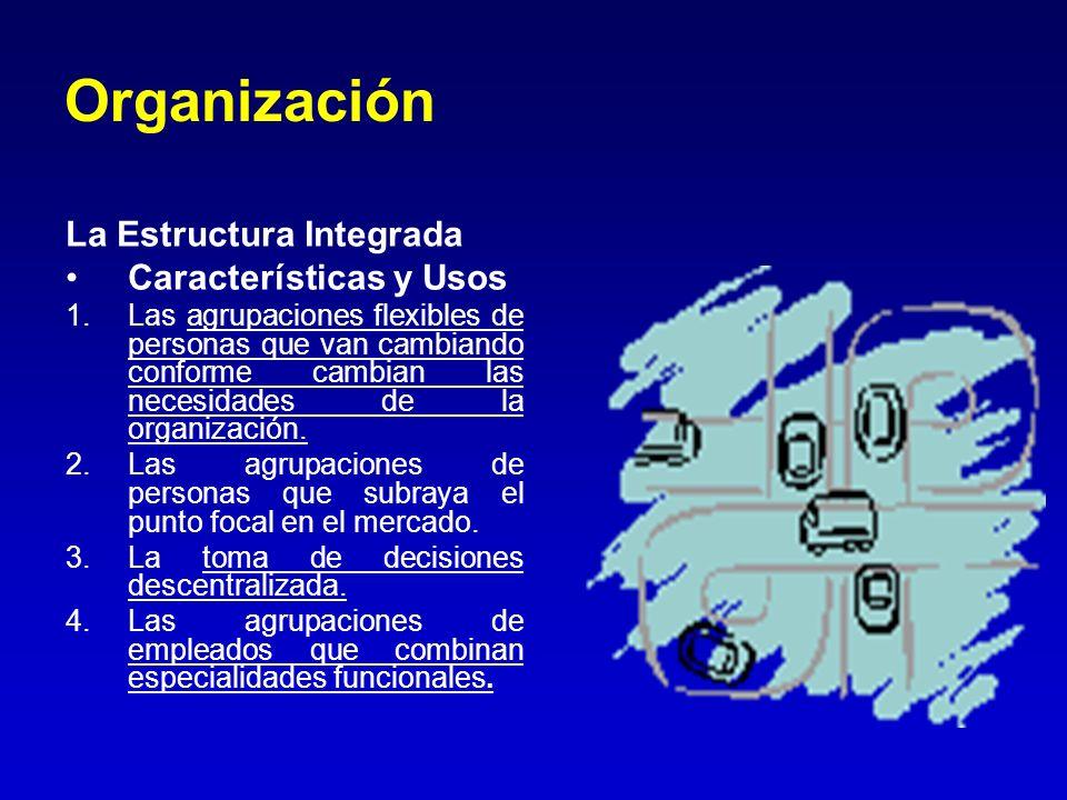 Organización La Estructura Integrada Características y Usos
