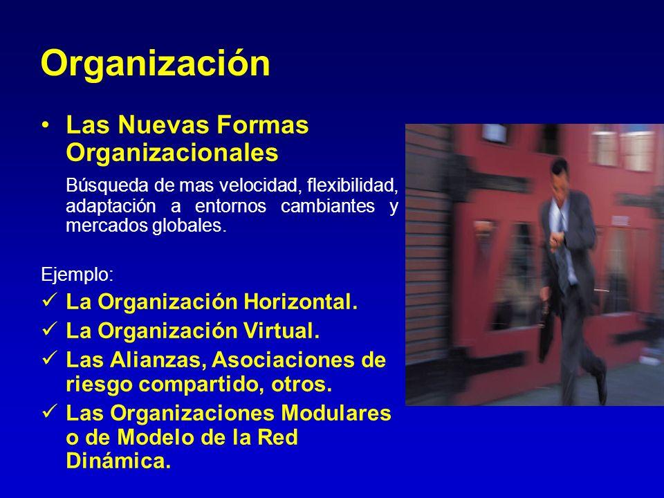 Organización Las Nuevas Formas Organizacionales