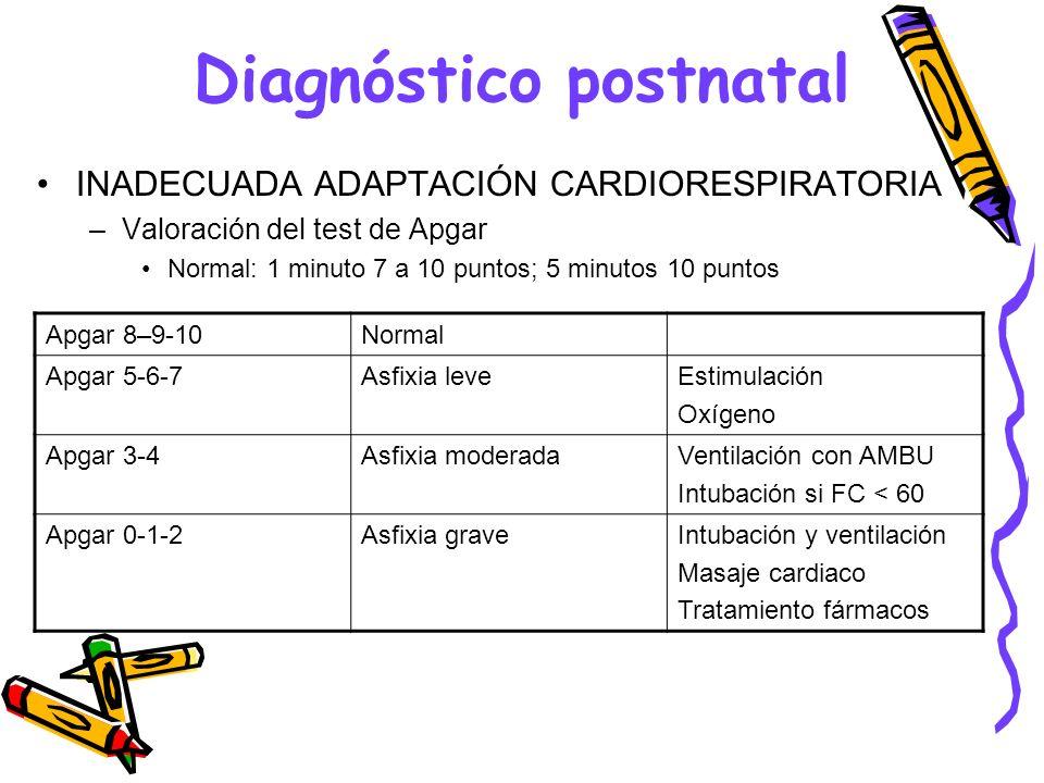 Diagnóstico postnatal