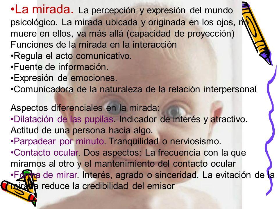 La mirada. La percepción y expresión del mundo psicológico