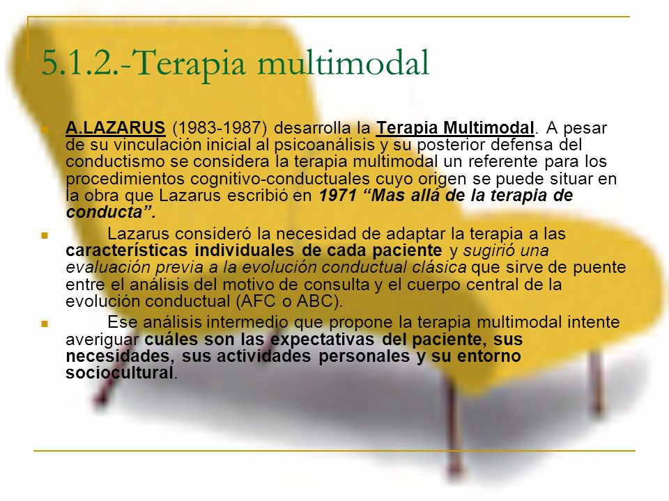 5.1.2.-Terapia multimodal