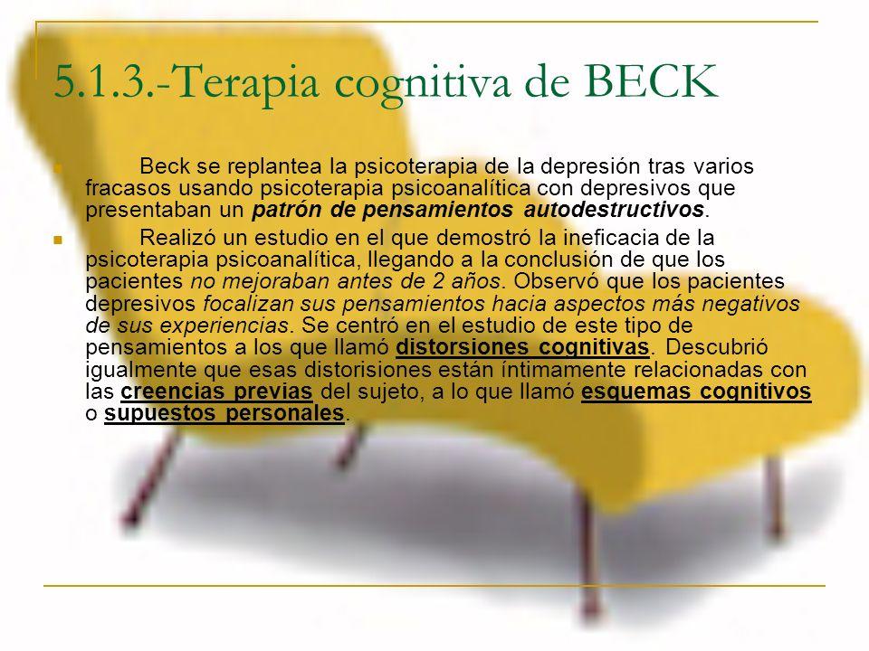 5.1.3.-Terapia cognitiva de BECK